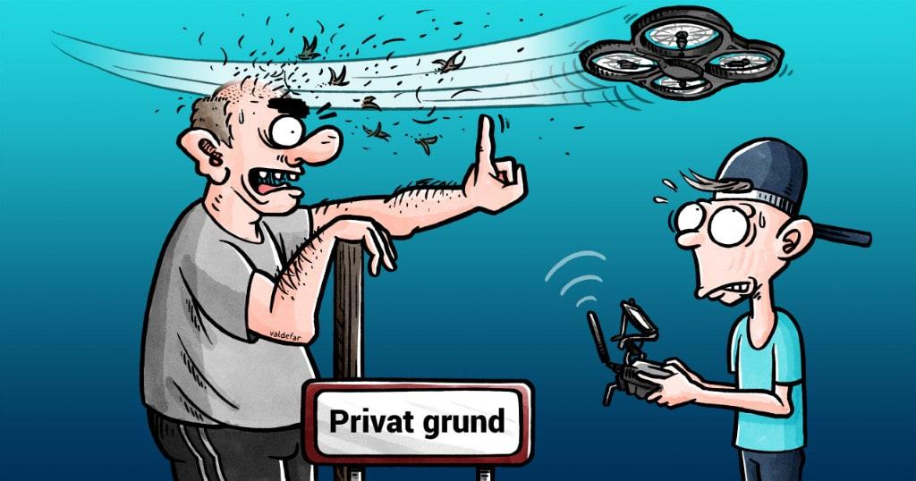 Privat grund