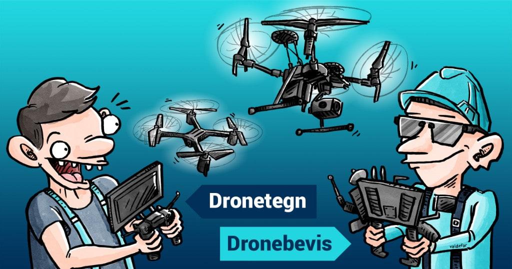Dronetegn / dronebevis