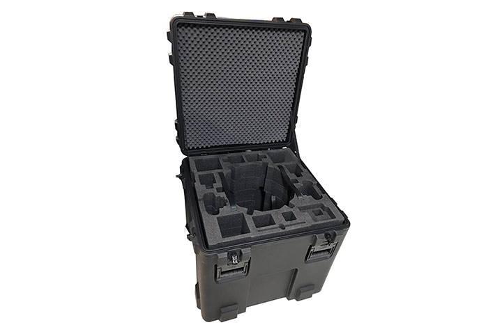 kasse med skum