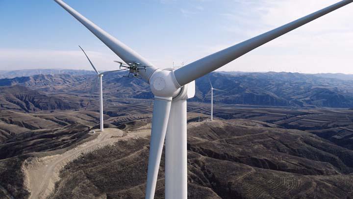 Matrice 200 vindmølle