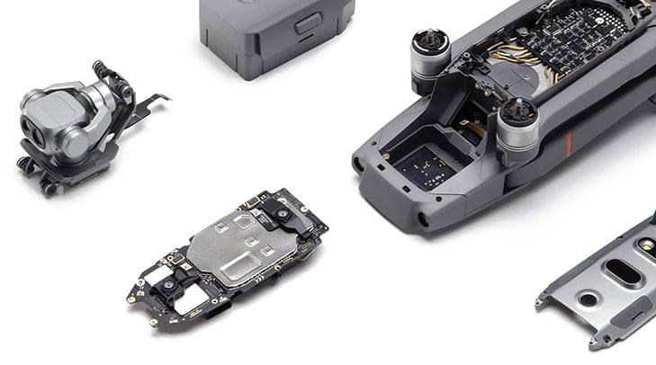 drone værksted