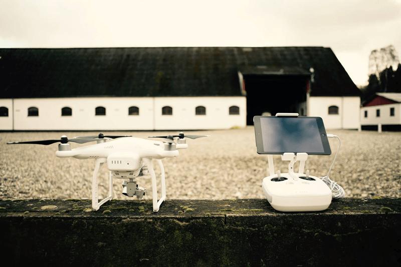 Droneudstyr fra Droner.dk