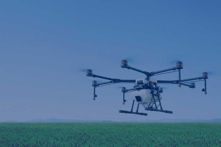 Droner og landbrug