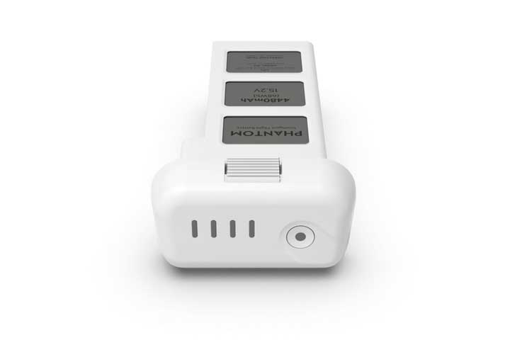 Smart batteri til Phantom 3 med LED indikator optimeret