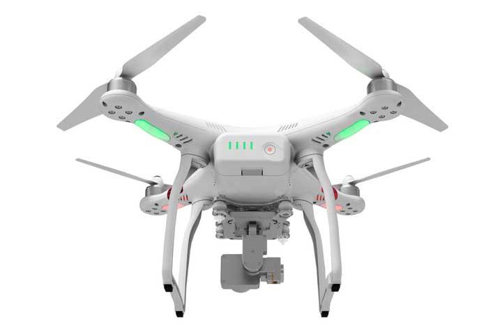 DJI Phantom 3 med automatisk flyvesystem optimeret