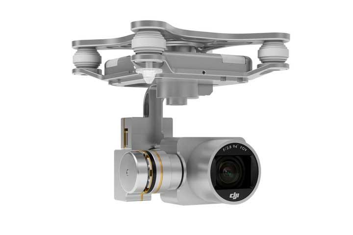 Stabiliseret 2,7K kamera medfølger optimeret