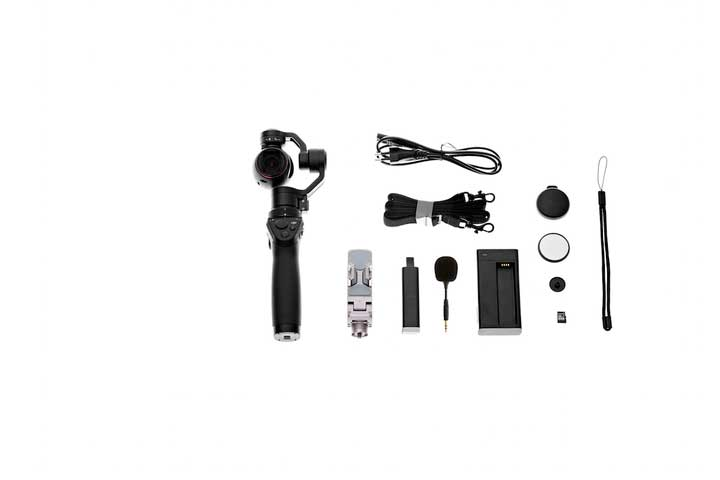 DJI Osmo Plus Hele Pakken optimeret