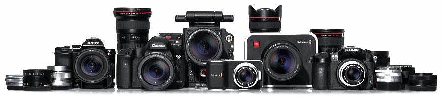 mange supporterede kameratyper